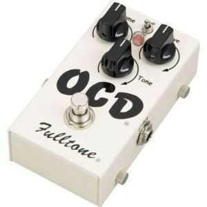 Fulltone OCD Obsessive Compulsive Drive Overdrive Guitar Effects Pedal Amps, Effects and Modeling   oh my!