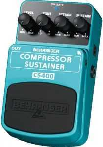 behringer cs400 002 210x300 The Best Compressor/Sustainer Pedals For Under $50
