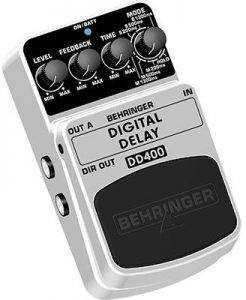 behringer dd400 001 246x300 The Best Delay / Echo Pedals For Under $50
