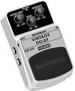behringer vd400 001 246x300 The Best Delay / Echo Pedals For Under $50