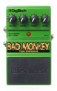 DigiTech DBM Bad Monkey Tube Overdrive 189x300 The Best Overdrive Pedals for Under $50