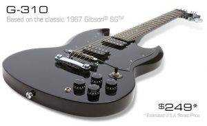 the epiphone g 310 an affordable sg review middle 8 reviews. Black Bedroom Furniture Sets. Home Design Ideas